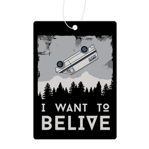 I Want To Believe Air Freshener