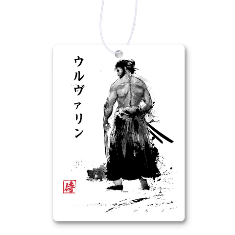Immortal Samurai Sumi-e Air Freshener