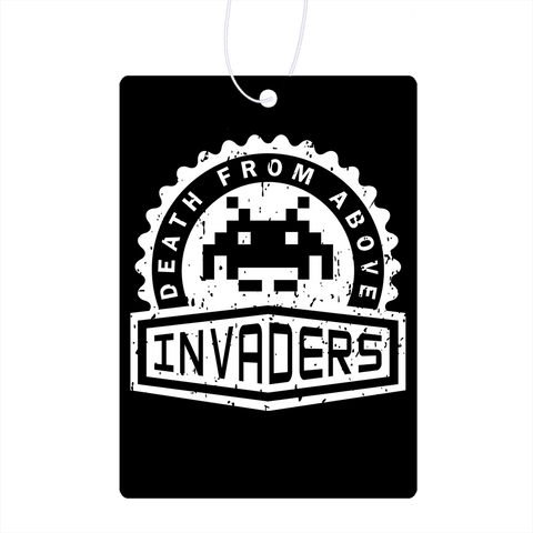 Invaders Crest Air Freshener