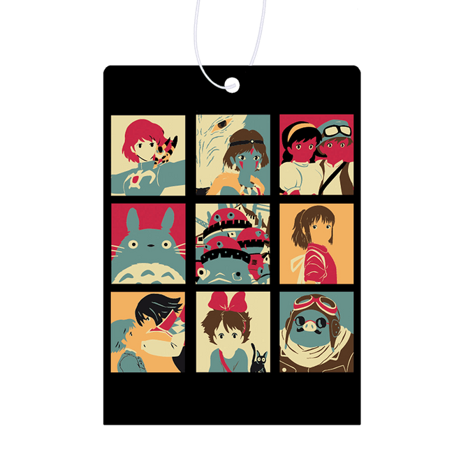 Princess Mononoke Air Fresheners