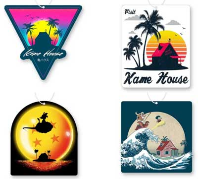 Kame House Air Freshener 4 Pack