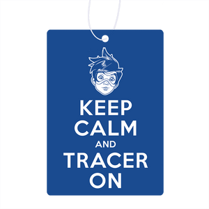 Keep Calm And Tracer On Air Freshener