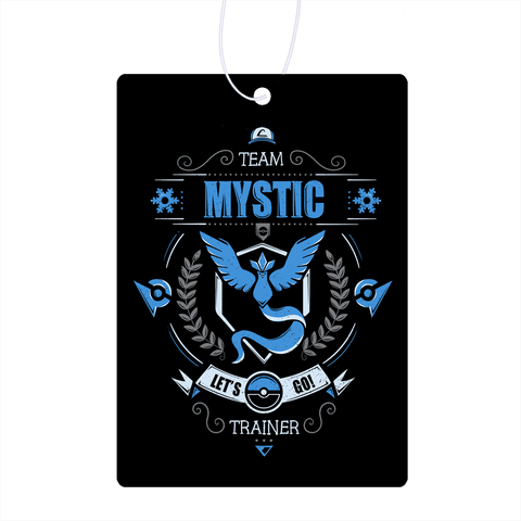 Let's Go Team Mystic Air Freshener