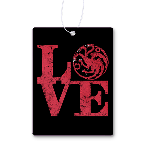 Love Targaryen Air Freshener