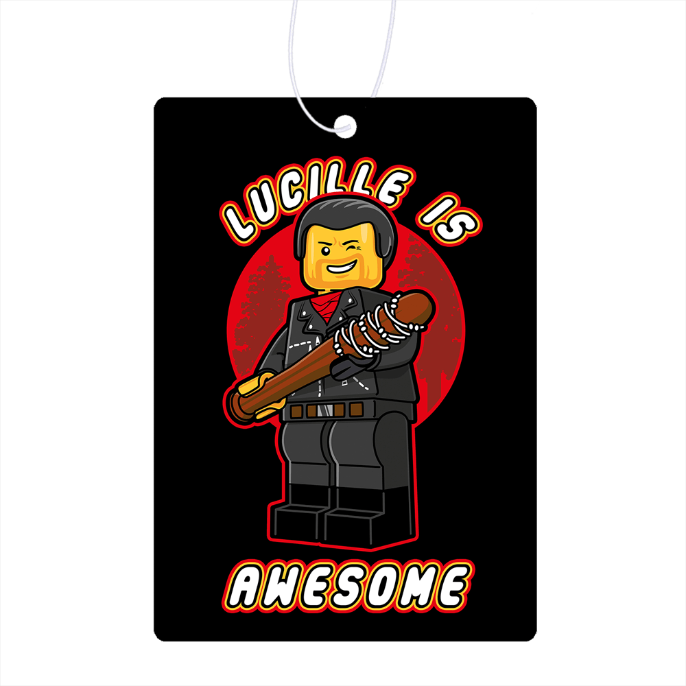 Lucille Is Awesome Air Freshener