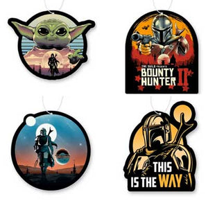Mandalorian Air Freshener 4 Pack