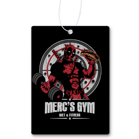 Merc's Gym Air Freshener