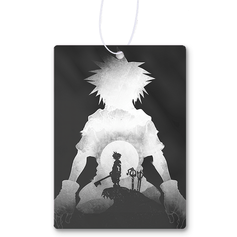 Monochrome Keyblade Air Freshener