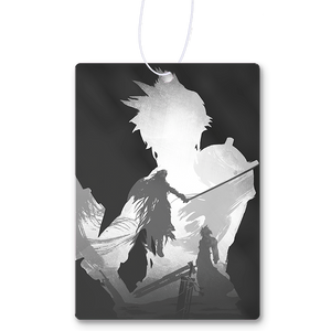 Monochrome Soldier Air Freshener