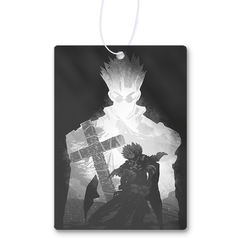 Monochrome Vash  Air Freshener