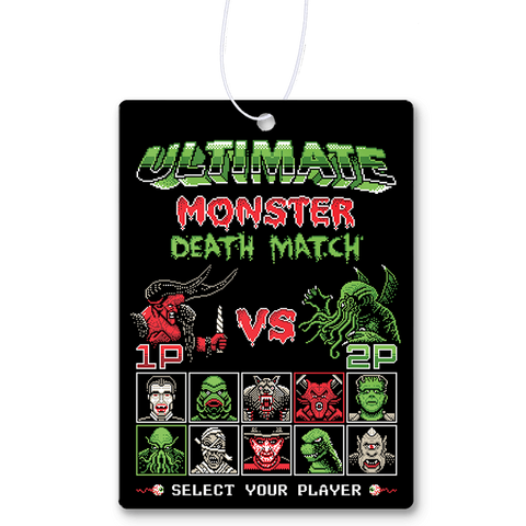 Monster Death Match Air Freshener