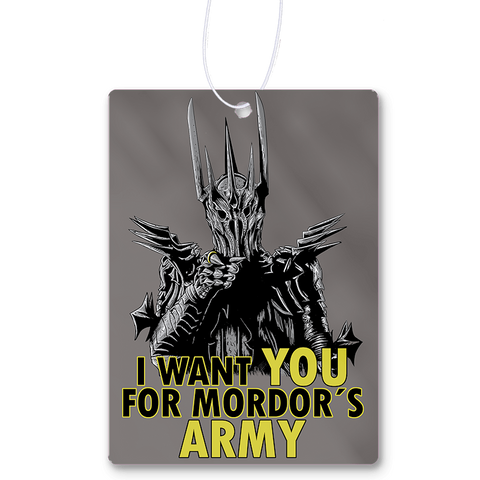 Mordor´s Army Air Freshener