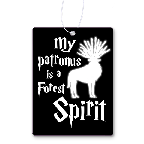 My Patronus Is A Forest Spirit Air Freshener