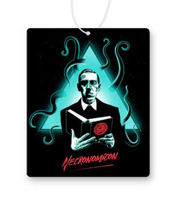 Lovecraft Necronomicon Air Freshener