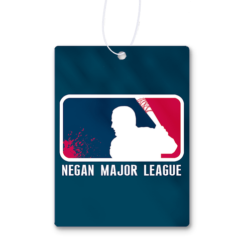 Negan Major League Air Freshener