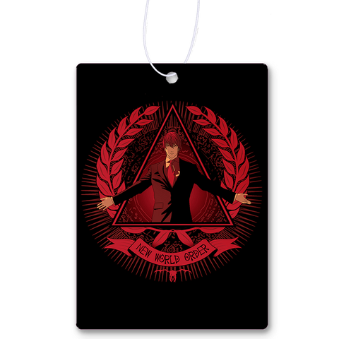 New World Order Air Freshener