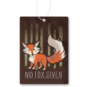 No Fox Given Air Freshener