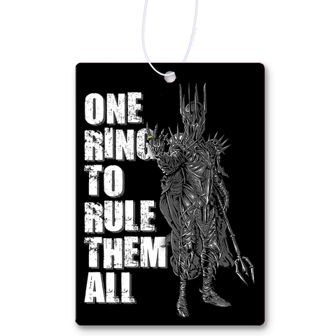 One Ring To Rule Them All Air Freshener