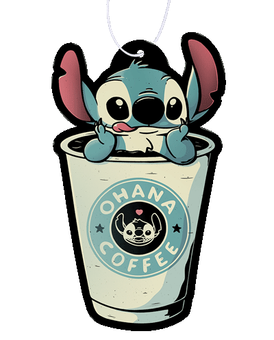 Ohana Coffee Air Freshener