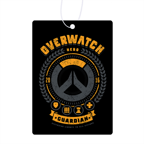 Overwatch Guardian Hero Air Freshener