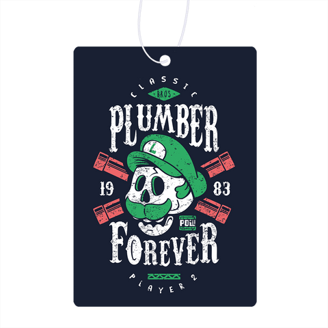 Plumber Forever Player 2 Air Freshener