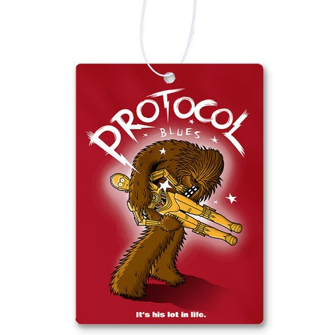 Protocol Blues Air Freshener