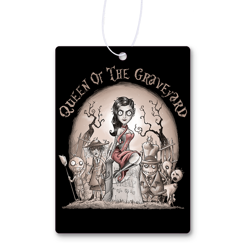 Queen Of The Graveyard Air Freshener