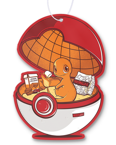 Red Pokehouse Air Freshener