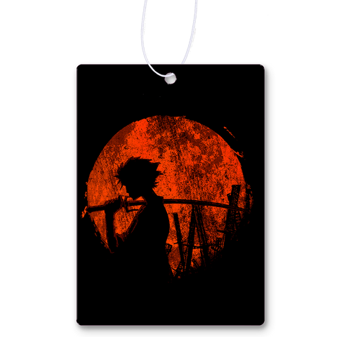 Red Sun Samurai Air Freshener