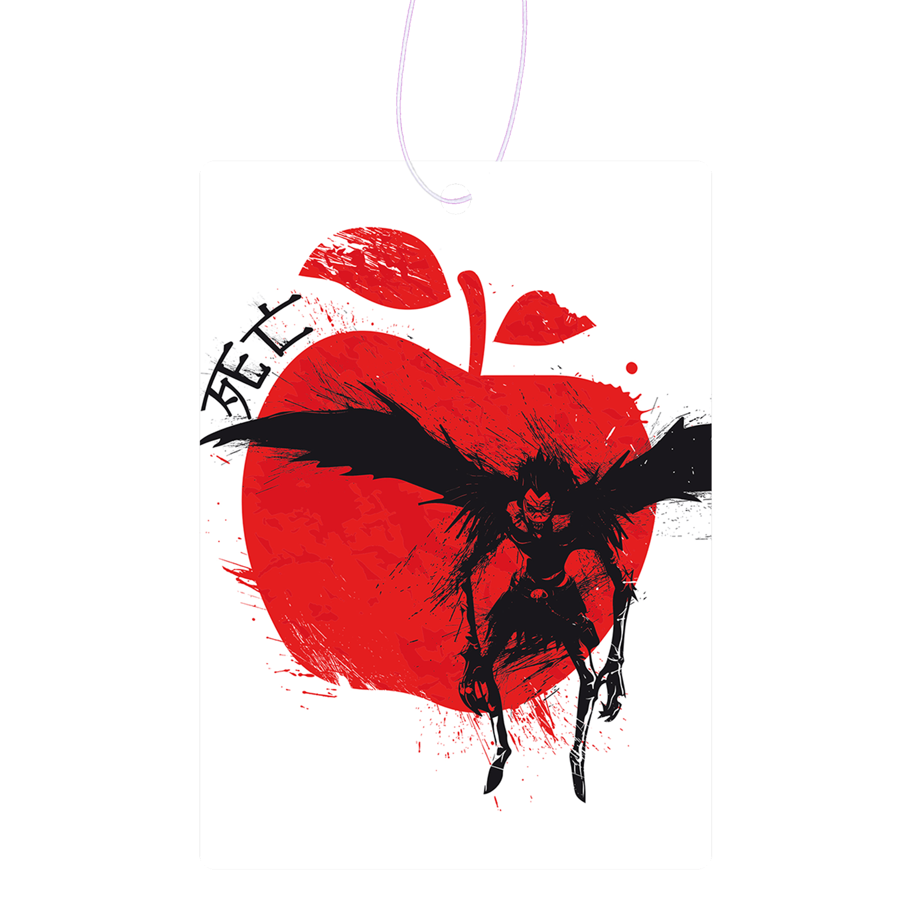 Red Sun Shinigami Air Freshener