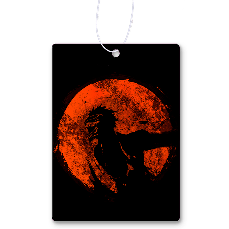 Red Sun Shinigami Mask Air Freshener