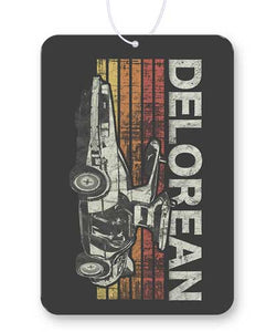 Retro Delorean Air Freshener