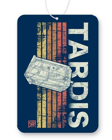 Retro Tardis Air Freshener