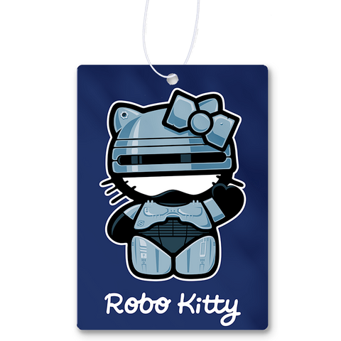 Robo Kitty Air Freshener