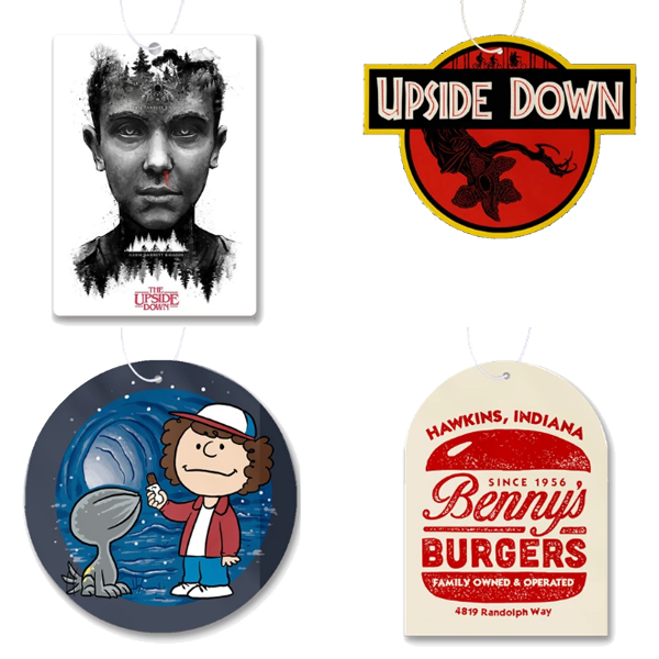 Stranger Things Air Fresheners
