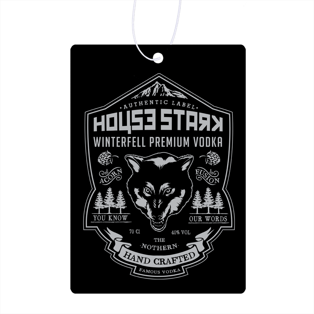 Stark Vodka Air Freshener