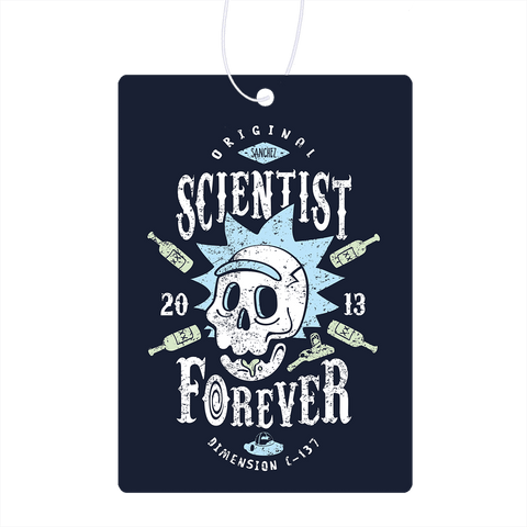 Scientist Forever Air Freshener