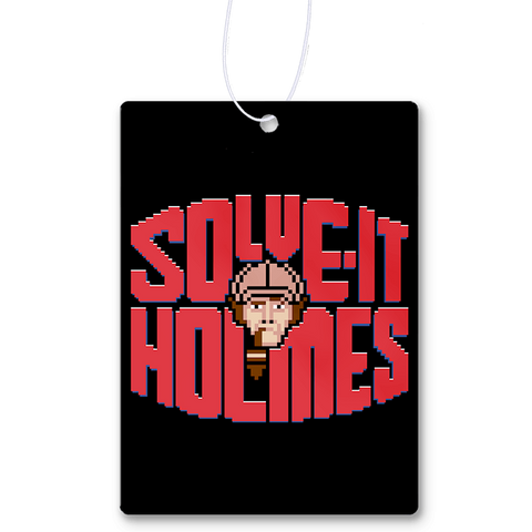 Solve It Holmes Air Freshener