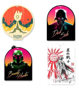 Star Wars Air Freshener 4 Pack