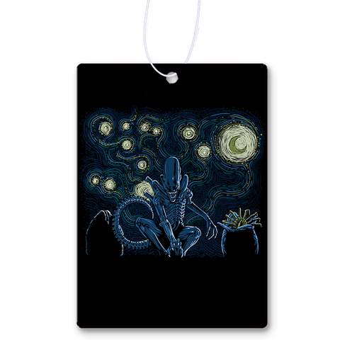 Starry Xenomorph Air Freshener