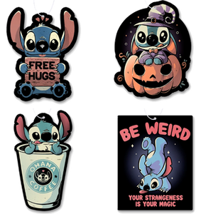 Stitch Air Freshener 4 Pack