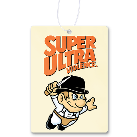 Super Ultra Violence Air Freshener