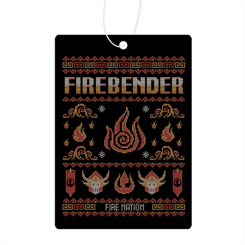 Sweater Of Firebending Air Freshener