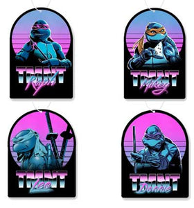 Retro TMNT Air Freshener 4 Pack