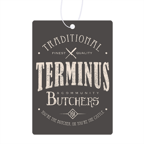 Terminus Butchers Air Freshener