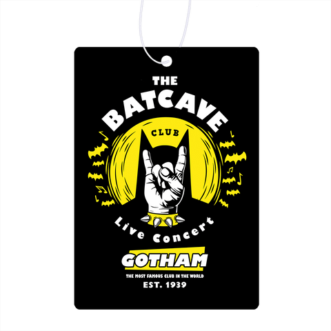 The Batcave Club V2 Air Freshener