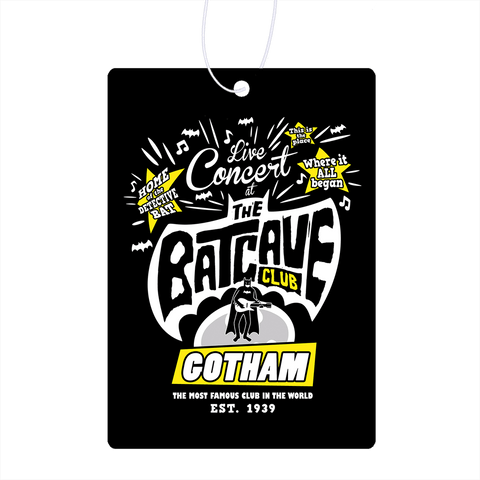 The Batcave Club Air Freshener