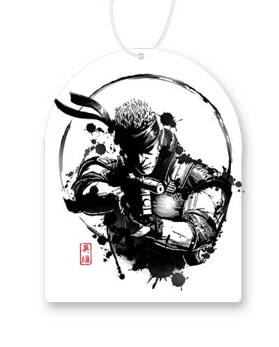 Metal Gear Solid Air Fresheners