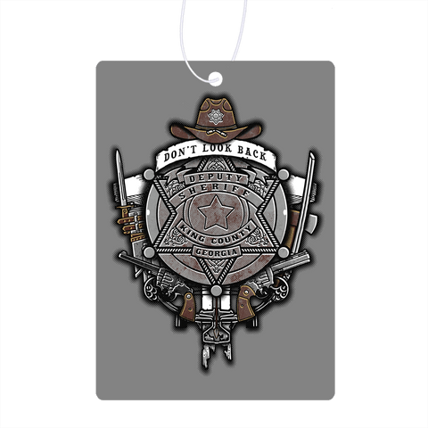 The Walking Crest Air Freshener