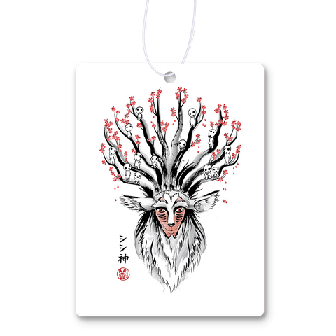 The Deer God Sumi-e Air Freshener